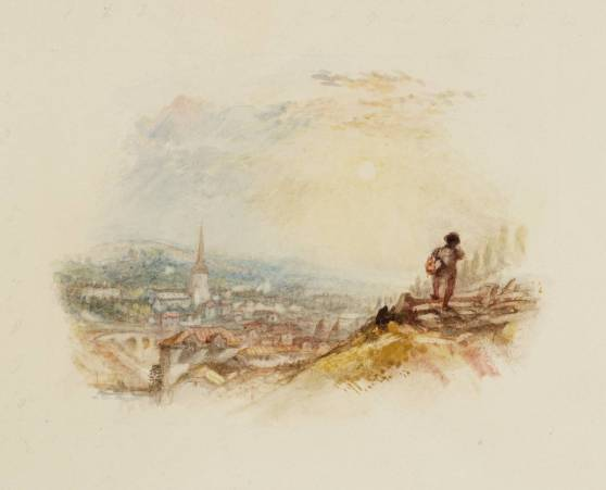 Leaving Home, for Rogers's 'Poems' circa 1826-36 by Joseph Mallord William Turner 1775-1851